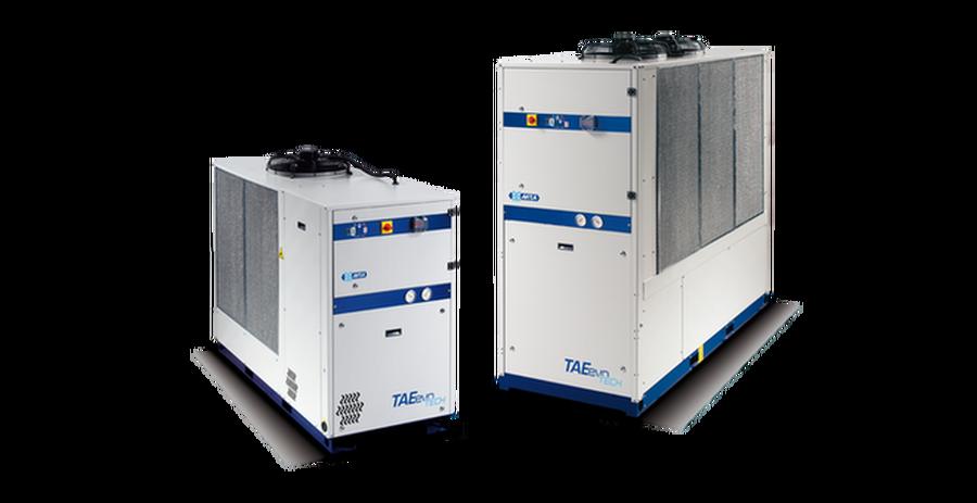 Ilmajäähdytteiset jäähdyttimet – TAEevo Tech – R410A