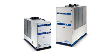 Vesijäähdytteiset jäähdyttimet – TWEevo Tech – R410A