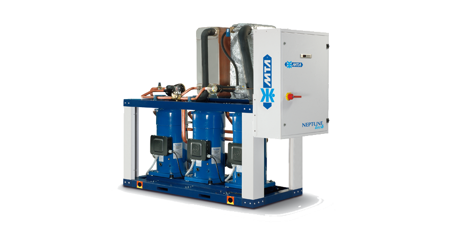 Vesijäähdytteiset jäähdyttimet – NEPTUNE Tech – R410A
