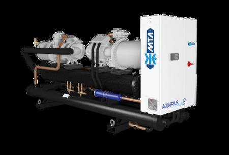 Vesijäähdytteiset lämpöpumput – AQUARIUS Plus 2 – R134a