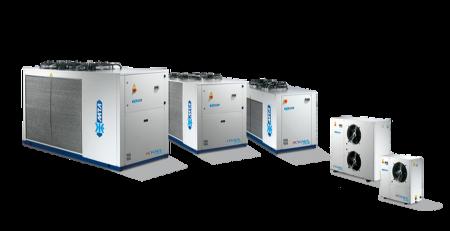 Ilmajäähdytteiset jäähdyttimet – CYGNUS Tech – R410A