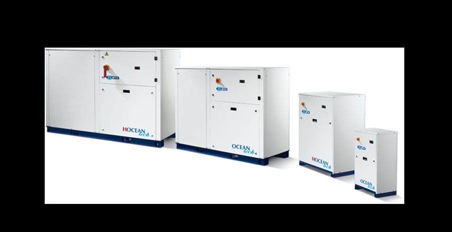 Vesijäähdytteiset lämpöpumput – HOCEAN Tech – R410A