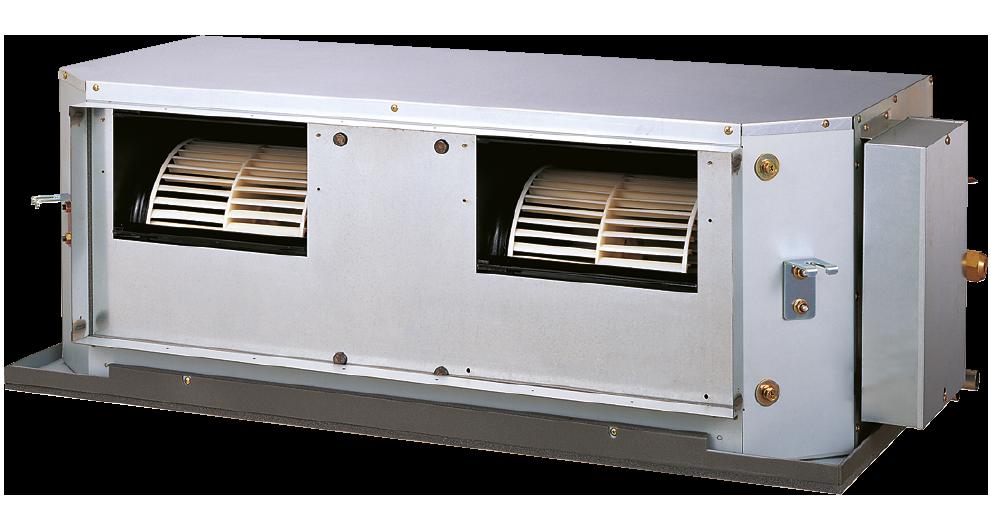 Kanavamallit R410A – LHTBP – Kompaktit keskisuurella paineella