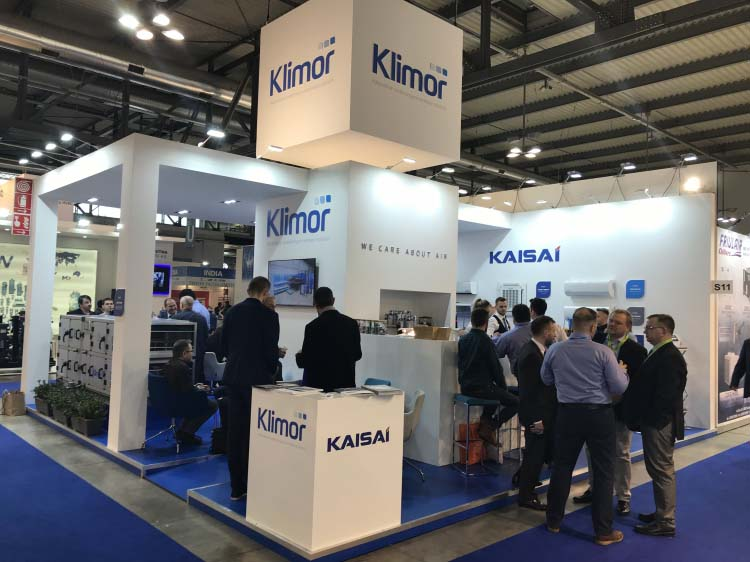 Klima-Therm Group at the MCE 2018 fair in Milano