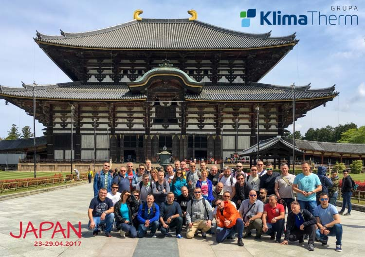 Sales Department of KLIMA-THERM Group visits FUJITSU production facility in Japan