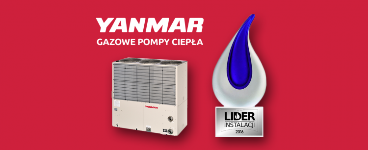 YANMAR gas powered heat pumps - a new product included in the offer of KLIMA-THERM