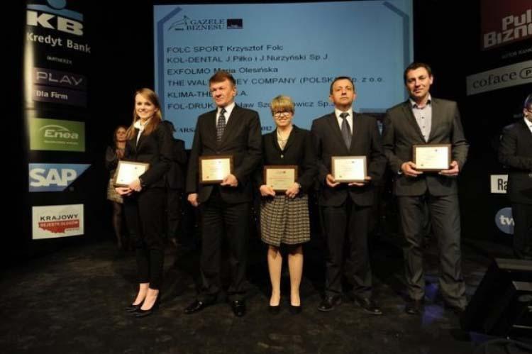 KLIMA-THERM w gronie laureatów Gazel Biznesu 2011
