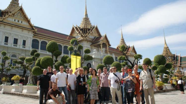 Exotic pearl of Asian tourism - Thailand with Fujitsu