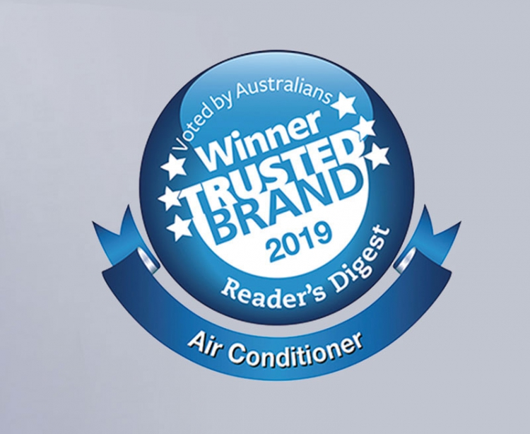 Congratulations to Fujitsu-General Australia for TRUSTED BRAND Award