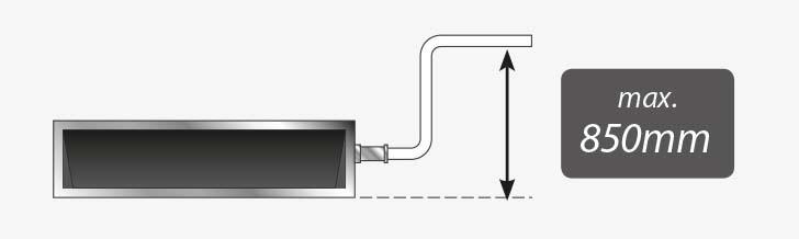 Pompka skroplin jako wyposażenie standardowe