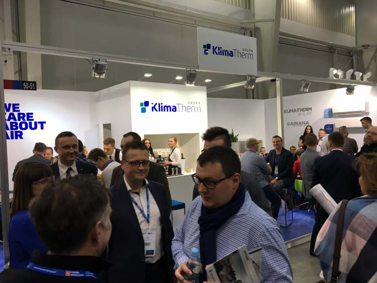 KLIMA-THERM at the Ventilation Forum - Air Conditioning Showroom 2018