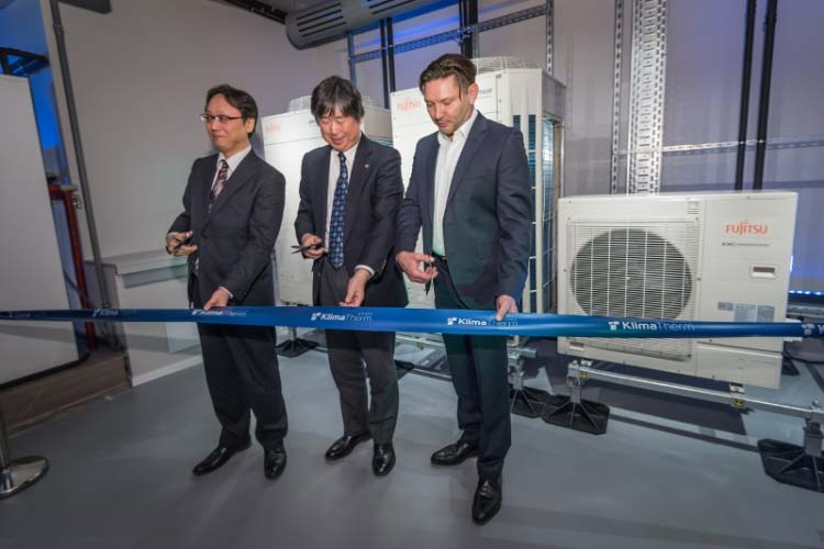 A coverage from the ceremony of opening the Academy of KLIMA-THERM Group in Warsaw