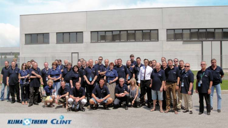 HVAC system Designers visit production facility in Italy