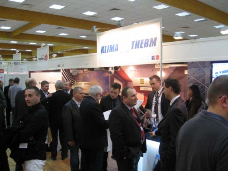 KLIMA-THERM exhibition at VENTILATION FORUM - AIR CONDITIONING SHOW 2011