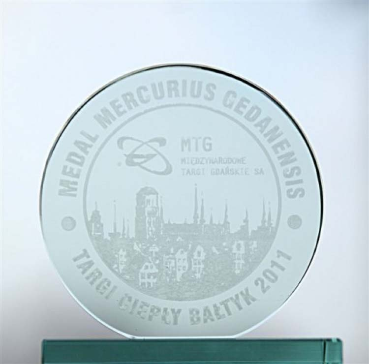 FUJITSU wins an award at the Warm Baltic Fair 2011