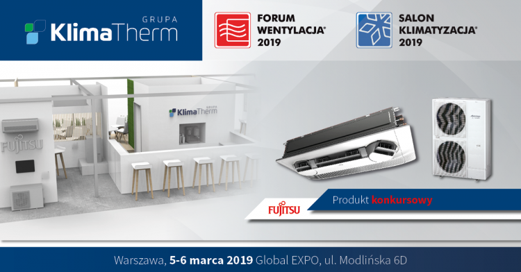 KLIMA-THERM at the VENTILATION FORUM – AIR-CONDITIONING SHOWROOM 2019