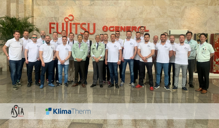 """ASIA DREAM"" with Klima-Therm – the grand final of the FUJITSU Partnership Program"