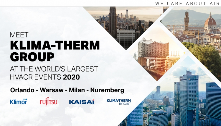 Klima-Therm Group at the world's largest trade shows (2020)