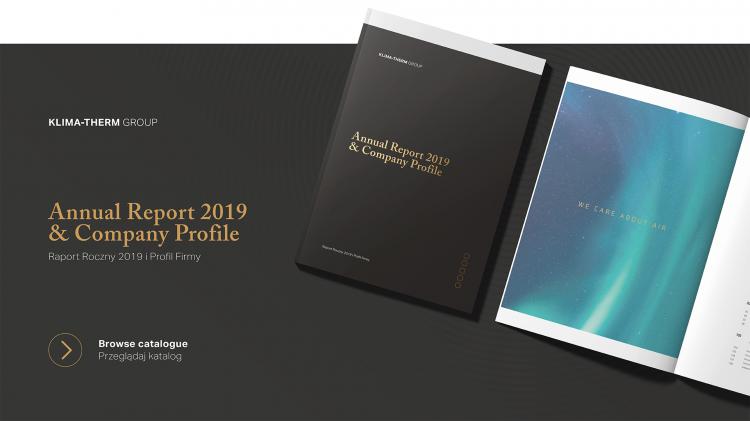 """NOWA publikacja: """"Raport Roczny 2019 i Profil Firmy"""""""