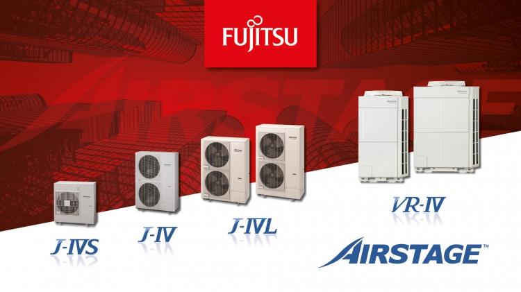 NOWOŚCI Fujitsu – IV generacja systemów VRF Airstage; 20 nowych modeli. Zdalny system zarządzania