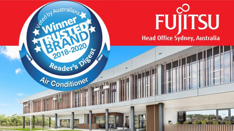 Australia: Klimatyzatory Fujitsu po raz trzeci z nagrodą TRUSTED BRAND