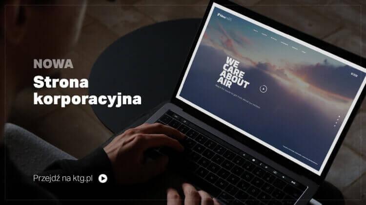 NOWA odsłona strony korporacyjnej KTG.PL