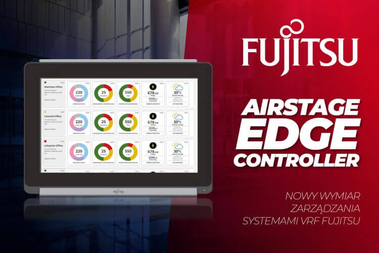 NOWOŚĆ: AIRSTAGE Edge Controller