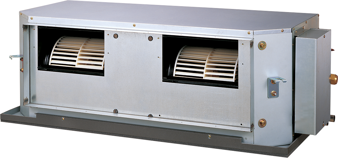 Kanałowy R410A - LHTA - Wysoki spręż